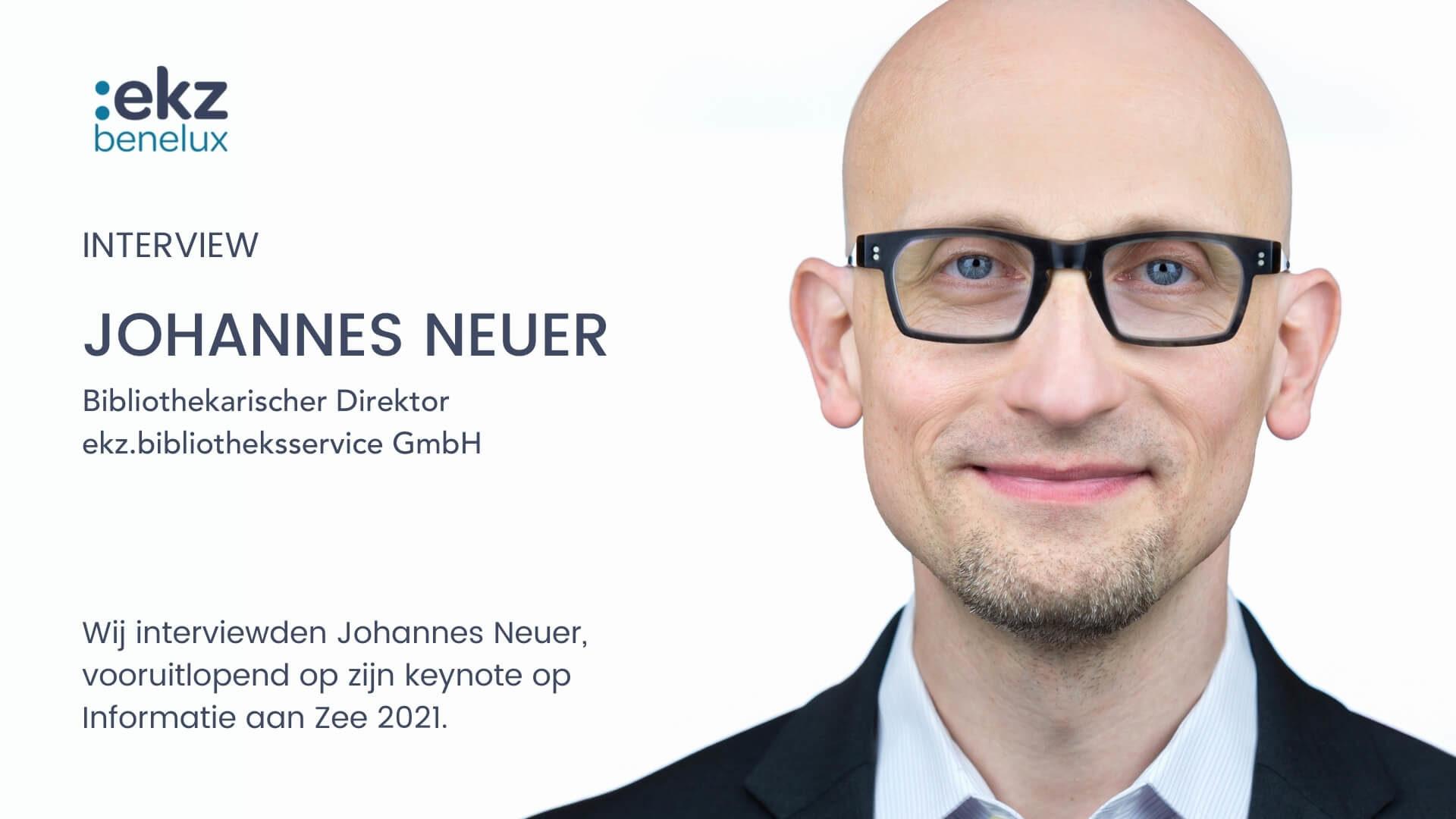 ekz benelux interviewt Johannes Neuer